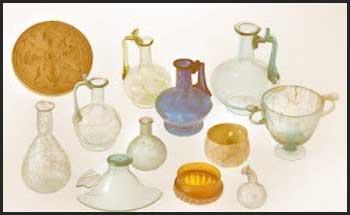 Storia del vetro i bicchieri for Oggetti sacri roma
